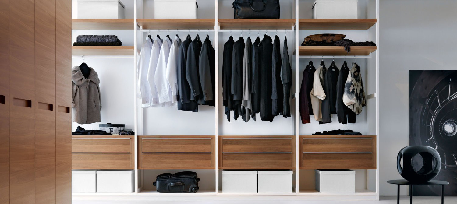Linear Walk-In Wardrobe