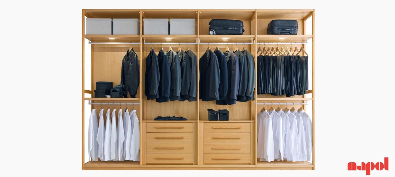 Corner Walk-In Wardrobe