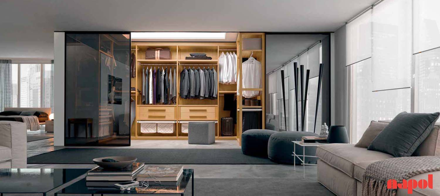 Corner Walk-In Wardrobe