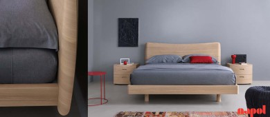 double modern bed