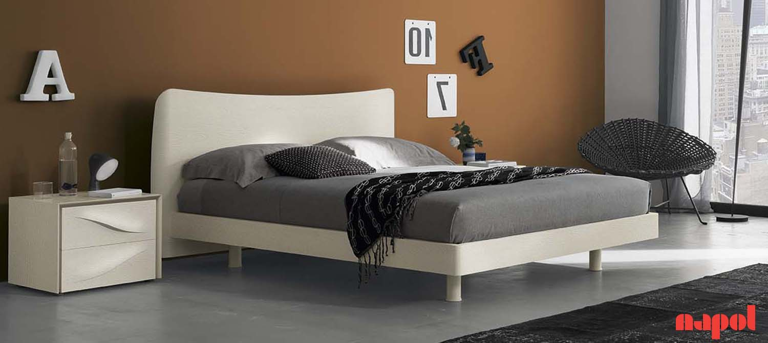 Carol modern double bed
