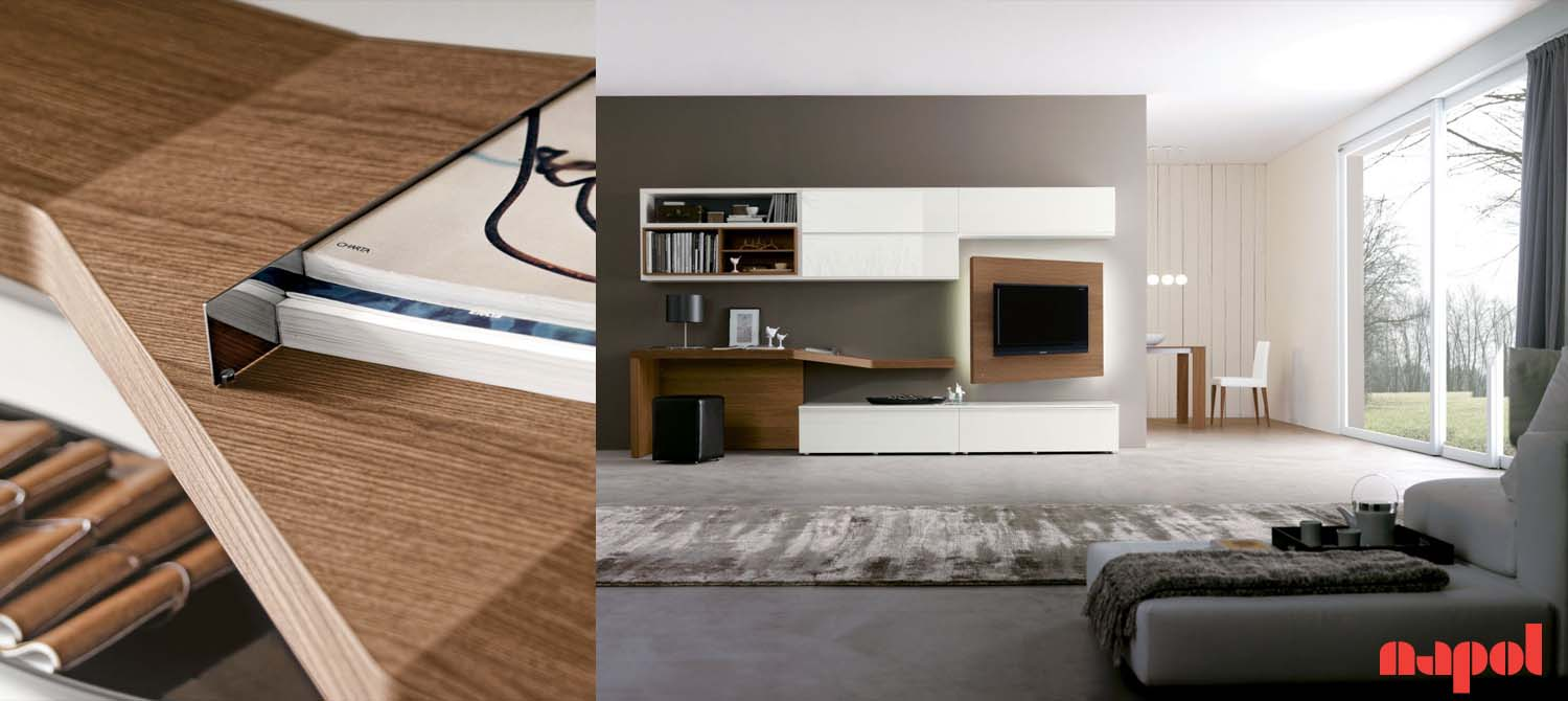 lounge tv wall system