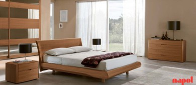 Canaletto walnut Bedroom suite 104