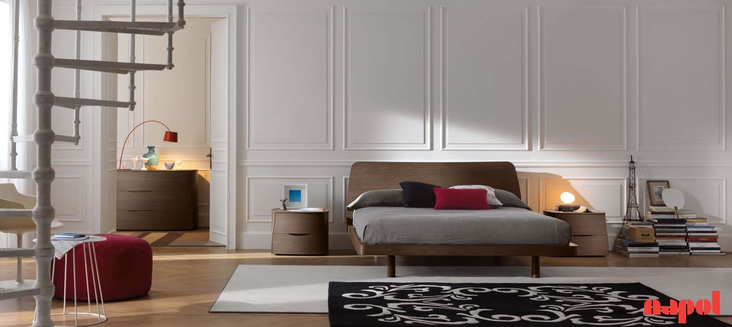 Wooden bedroom suite 251