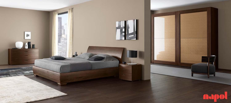 bedroom suite with sliding wardrobe