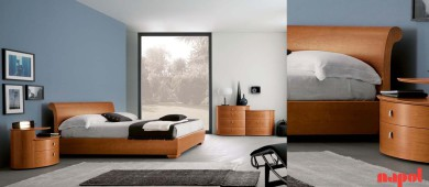 omra wooden double bed