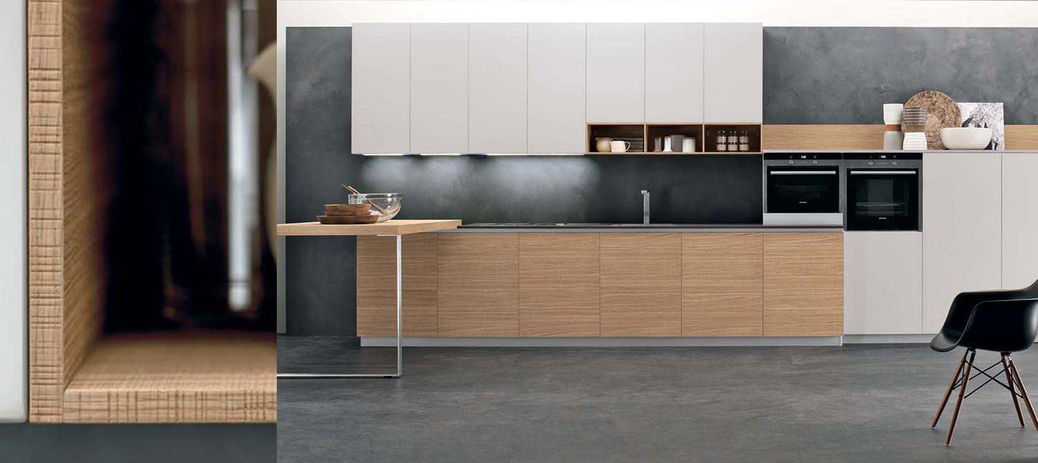 Plus fitted kitchen