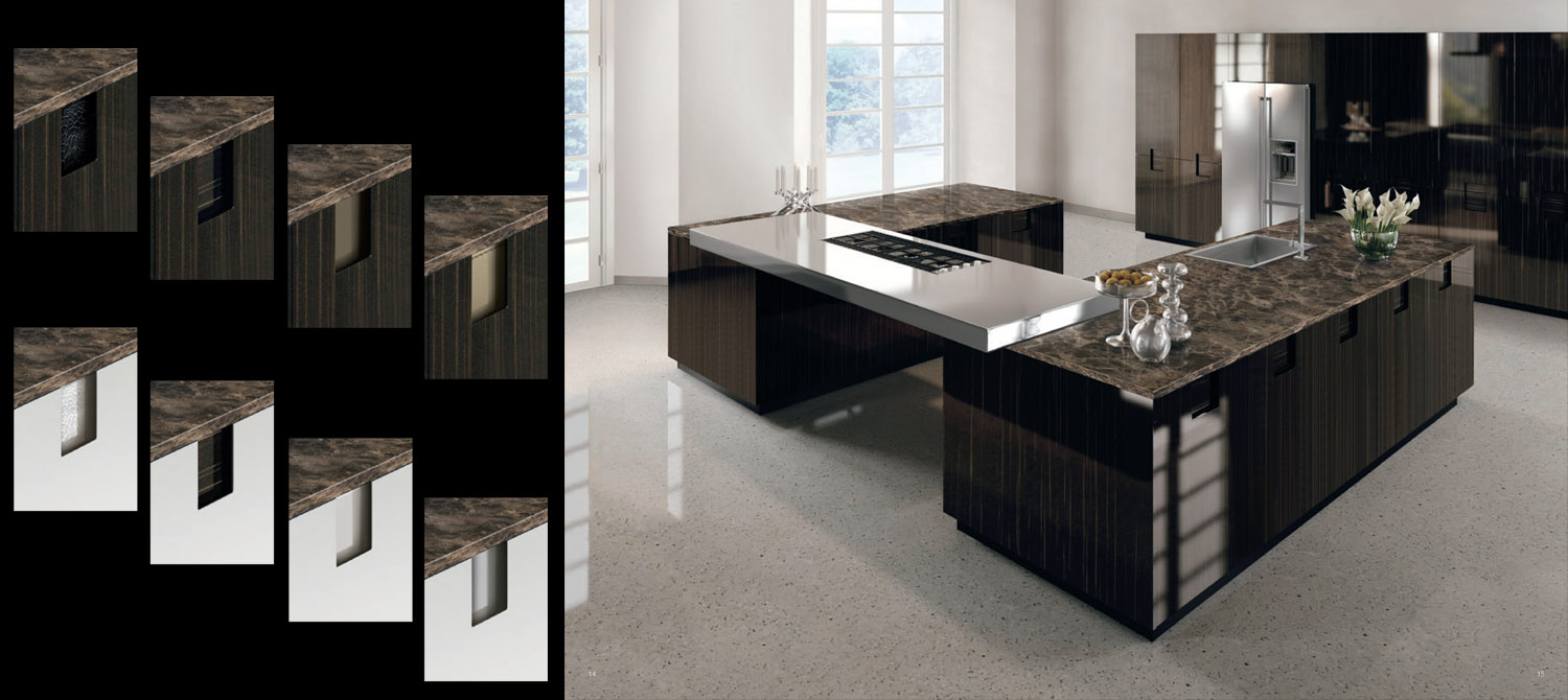 Plus Elite Italian contemporary Kitchen design