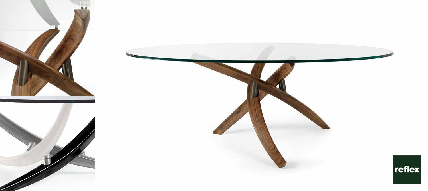Fili d 39 erba 72 reflex dinning table for Reflex tavoli