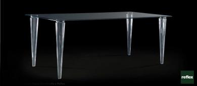 REFLEX Lady Plisse 72 Dinning Table Slider