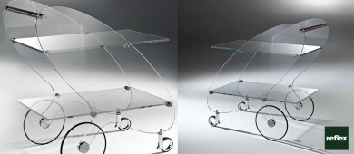 REFLEX Piorot Trolley Table Slider