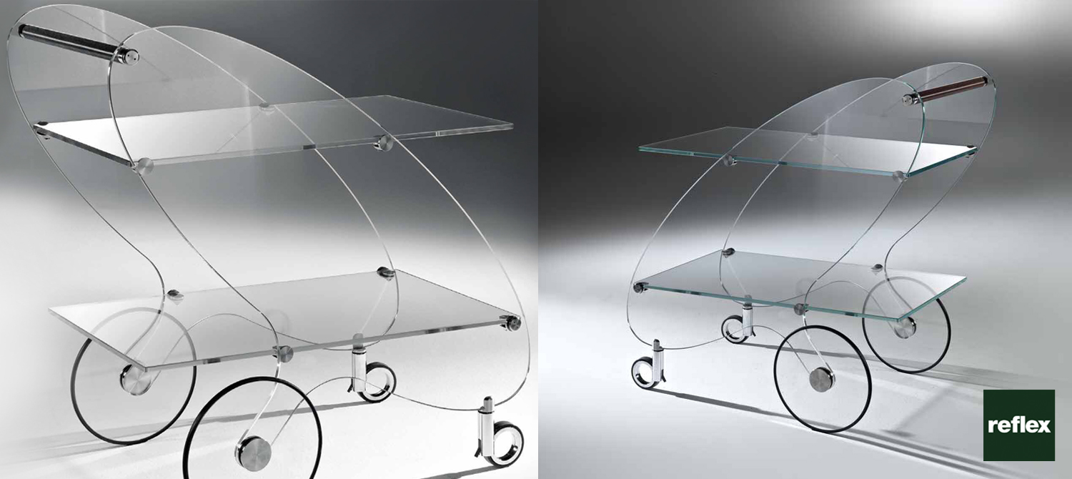 REFLEX Piorot Trolley Table Slider