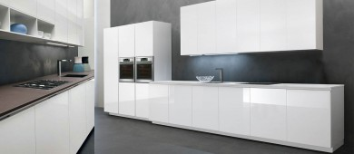 Smile Step Italian imported modern fitted Kitchen