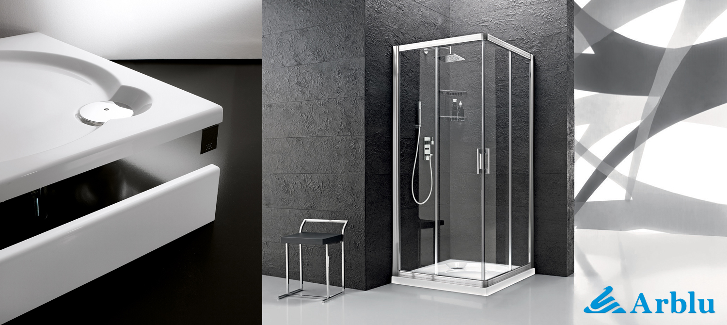 Arblu SHOWER BASE Piatti Geo