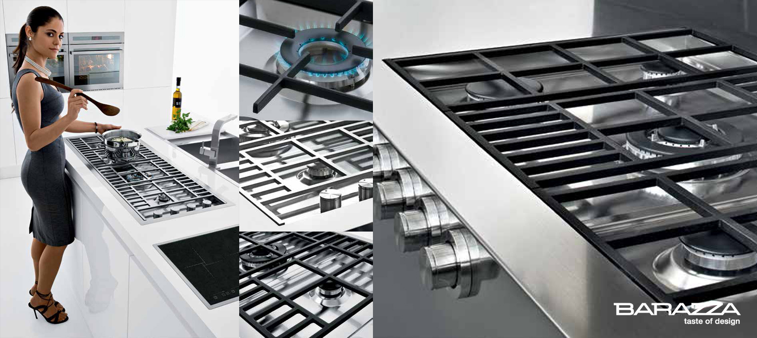 Barazza Gas Hob 2 Slider