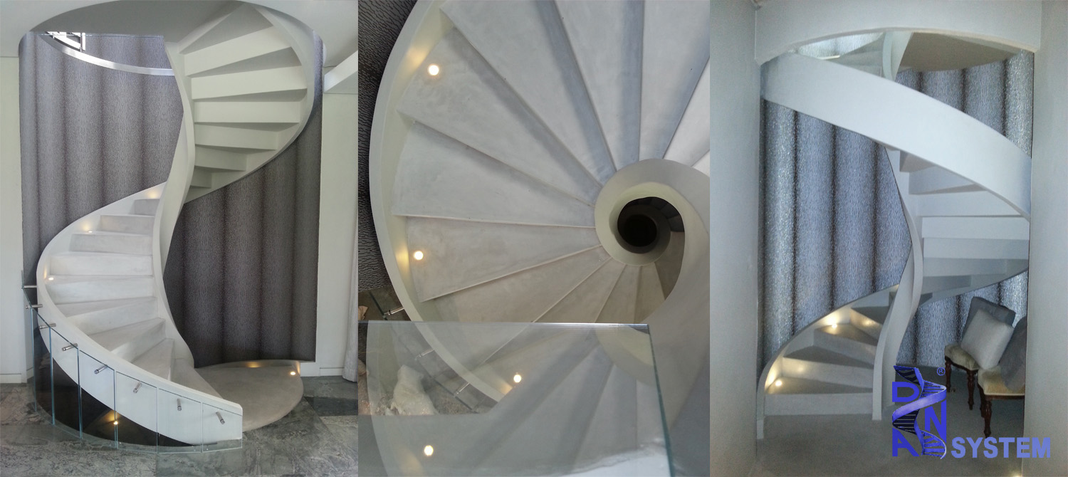 DNA Helical Stairs 3 Slider 1500 X 670