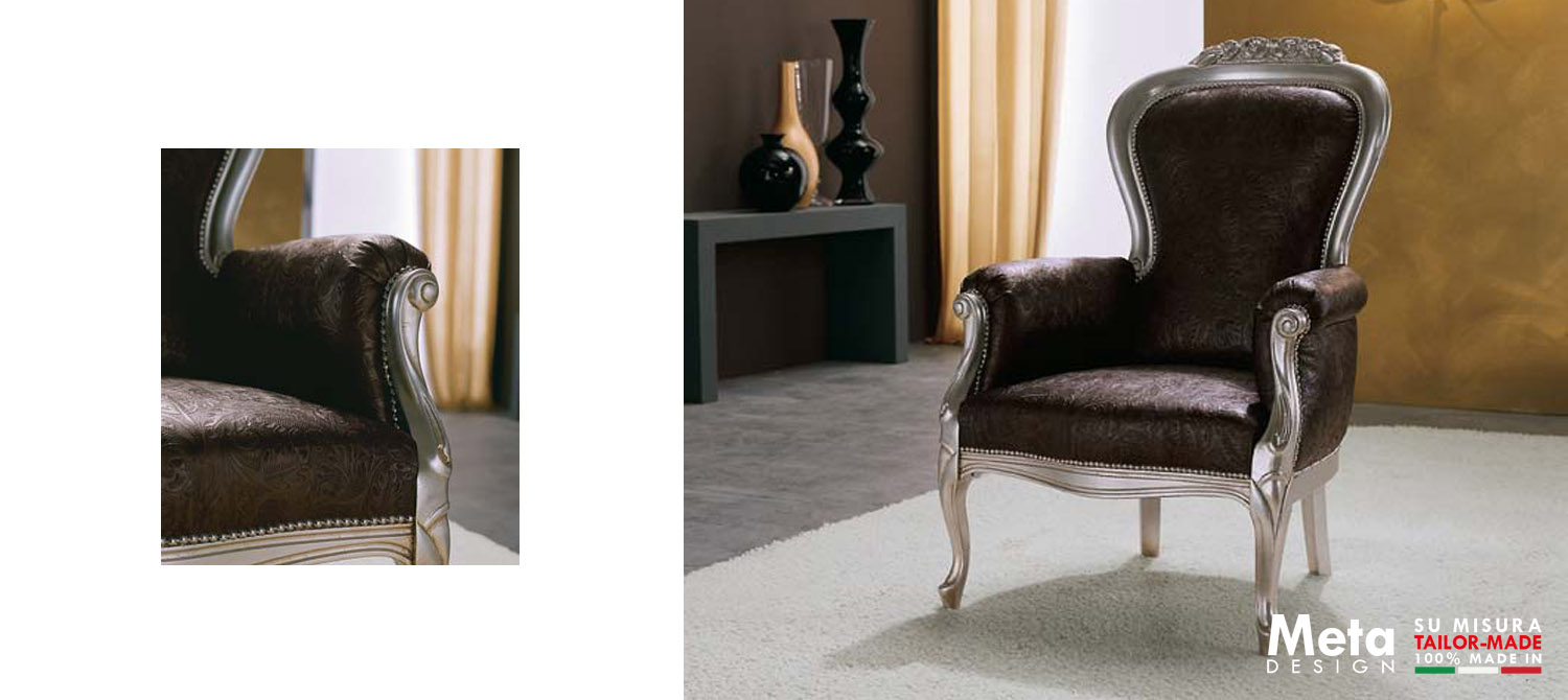 Meta ArmChair Armacord Lux Slider