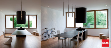 Compasso triple glazed window