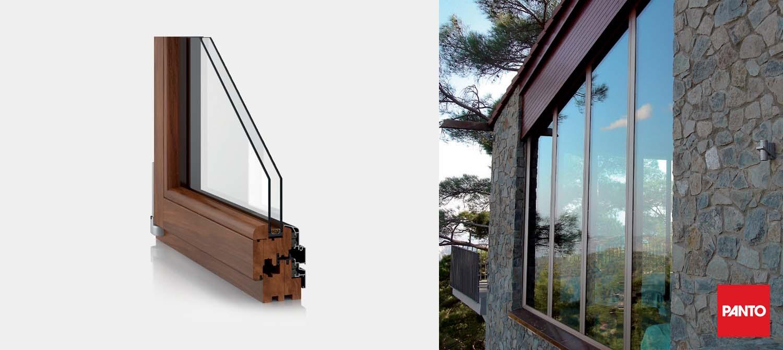 alupan double glazed window