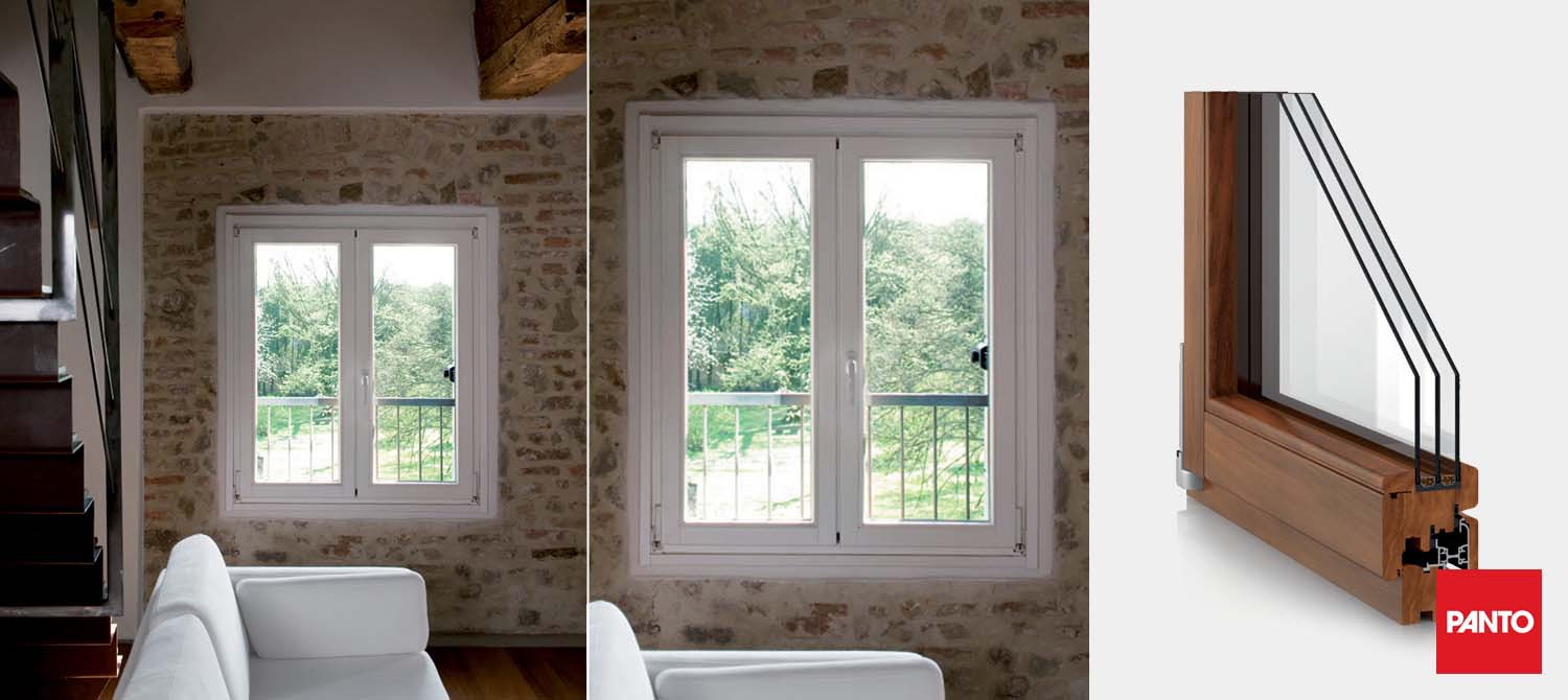 Magnum compasso triple glazed window