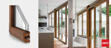 Magnum ego triple glazed window
