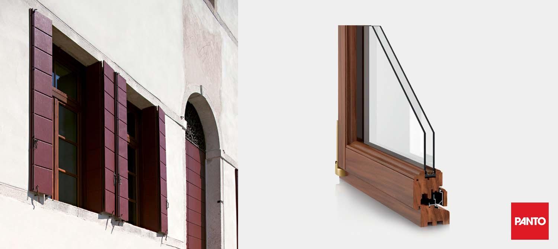 Panto Windows System BAROCCO Slider
