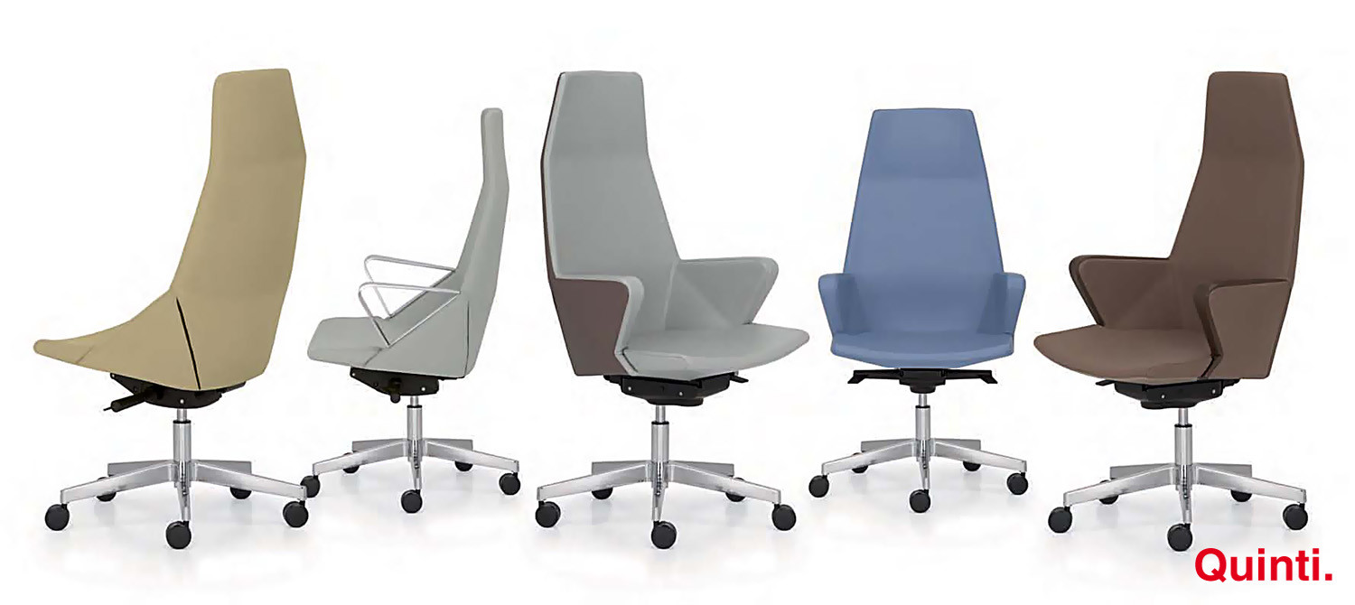 myway chair with high back , armrests and loop-base