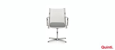 Quinti Season Mix Low back with Elle armrests & Star base Slider