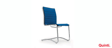 Quinti Season Slim Visitors chair with Cantilever base Slider