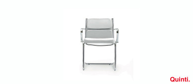 Quinti Seasons Comfort Visitors chair with Armrests & Cantilever base Slider