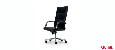 Quinti Senator High back with special Armrests & Loop Slider