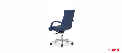 Quinti Senator Low back with Armrests & Loop base Slider