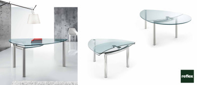 REFLEX Policleto Goccia Dinning Table Slider