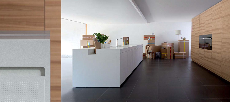 eco-friendly kitchen composition