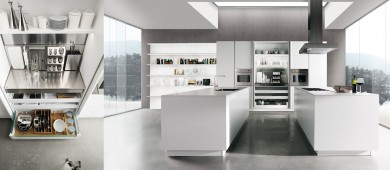 Modern Sincro Matt Kitchen