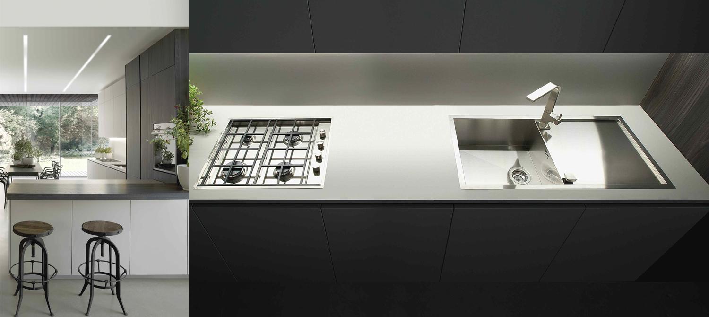 Satin Handle Kitchen